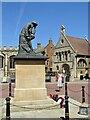 TL2371 : Huntingdon - War Memorial by Colin Smith