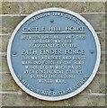 TL2471 : Huntingdon - Path Finder Plaque by Colin Smith