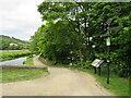 SE0512 : Canal towpath near Marsden by Malc McDonald