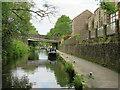 SE0411 : Huddersfield Narrow Canal, Marsden by Malc McDonald