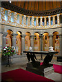 NY4348 : Part of the interior of the apse, St Mary, Wreay by Humphrey Bolton