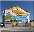 J5979 : Mural, Donaghadee by Rossographer