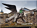 SE0986 : Dragon Sculpture at the Forbidden Corner by David Dixon