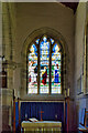 SE0989 : Altar and East Window, Wensley Church by David Dixon