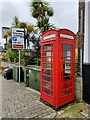 TQ1711 : Former Telephone Kiosk by PAUL FARMER