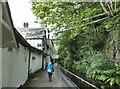 SJ1943 : Rear of the Chain Bridge Hotel by Oliver Dixon