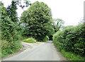 TL8836 : Henny Road, Lamarsh by Geographer