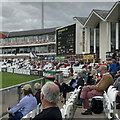 NZ2850 : Chester-le-Street: watching Durham at The Riverside by John Sutton