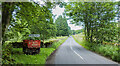 NY9442 : Minor road approaching Rookhope by Trevor Littlewood