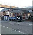 ST3089 : 4-axle Scania lorry, Malpas Road, Crindau, Newport by Jaggery