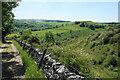 SK1373 : Limestone Way above Monk's Dale by Bill Boaden