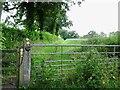 SK4340 : Gates at the start of Hagg Lane by Ian Calderwood