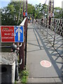 ST5872 : Cyclists must dismount by Neil Owen