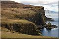 NG2138 : Coast near Glen Ollisdal, Isle of Skye by Andrew Tryon