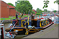 SJ8746 : Canal boat festival at Etruria by Chris Allen