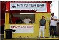 SP4640 : Ann's Tea Bar at the Banbury Plant Hire Community Stadium by Steve Daniels