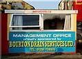 SP4640 : Management Office at the Banbury Plant Hire Community Stadium by Steve Daniels