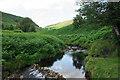 SK1695 : River Derwent above Slippery Stones by Bill Boaden