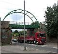 SE2320 : Scout Hill Bridge, Huddersfield Road (A644), Dewsbury by habiloid