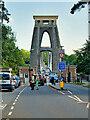 ST5673 : The West Tower, Clifton Suspension Bridge by David Dixon