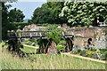 TQ4273 : Bridge over former moat, Eltham Palace by David Martin