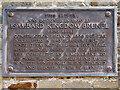 ST5673 : Memorial Plaque on the Clifton Suspension Bridge by David Dixon