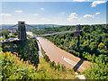 ST5673 : Clifton Suspension Bridge and the Avon Gorge by David Dixon
