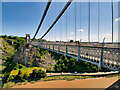 ST5673 : River, Gorge and Suspension Bridge by David Dixon