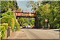 ST6670 : Railway Bridge over Bath Road by David Dixon