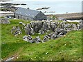 NL9839 : Tiree - Hynish - Alan Stevenson House from the outcrop by Rob Farrow