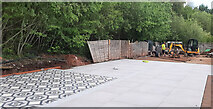 SO7119 : Renewing the patio at Leaf Creative, 15 by Jonathan Billinger