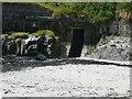 NL9839 : Tiree - Hynish - Dry Dock sluice portal by Rob Farrow
