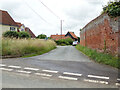 TM0135 : Hudsons Lane, Thorington Street by Geographer