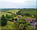 SO4051 : Towards Dilwyn, from Weobley church tower by Philip Pankhurst