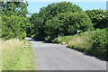 SN4618 : Minor road, formerly part of A48 by M J Roscoe
