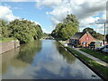SP2366 : Grand Union Canal from Hatton top lock (No. 46) by Chris Allen