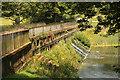 SE2812 : Cascade Bridge & weir by Richard Croft