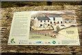 SX5669 : Information board, Leather Tor Farm by Derek Harper