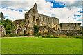 SE1785 : Main Abbey Buildings, Jervaulx Abbey by David Dixon
