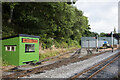 NY7146 : Carriage sidings, Alston by Trevor Littlewood