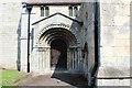 SE5940 : The Southern Doorway at St. Helen's Church, Stillingfleet by Chris Heaton