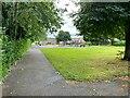SU6152 : Footpath through the Winklebury estate by Sandy B