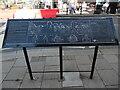 SU9676 : Information Board in Windsor High Street by David Hillas