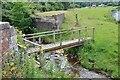 NT3636 : Footbridge over the Bold Burn by Jim Barton