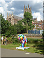 SO8454 : Worcester Cathedral by Chris Allen
