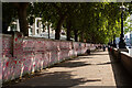 TQ3079 : Lambeth : National COVID Memorial wall by Jim Osley
