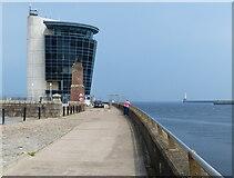 NJ9505 : The Marine Operations Centre at Footdee, Aberdeen by Mat Fascione