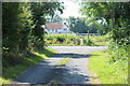 ST3483 : Junction of lane with West Nash Road by M J Roscoe