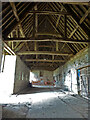 SO8125 : Ashleworth Tithe Barn by Chris Allen