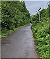 SO4200 : End of the 30 zone, Llangwm, Monmouthshire by Jaggery